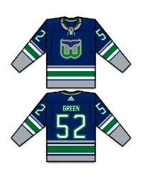 Hartford Whalers - Saison 2017-18 Green